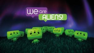 Space Odyssey -We are Aliens! show