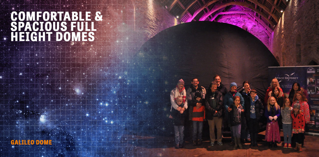 space odyssey offers spectacular