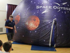Space Odyssey Covid Precautions